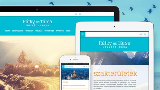 Ratky & Partner website