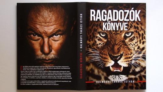 Predators' book – book design